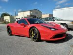 B & B Auto Body works on Ferrari's too
