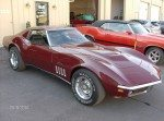 Classic Corvette repaired and painted in Sarasota at B & B Auto Body
