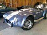 Shelby Cobra Being Repaired