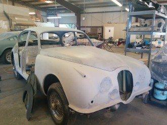 Vintage Jaguar Stripped
